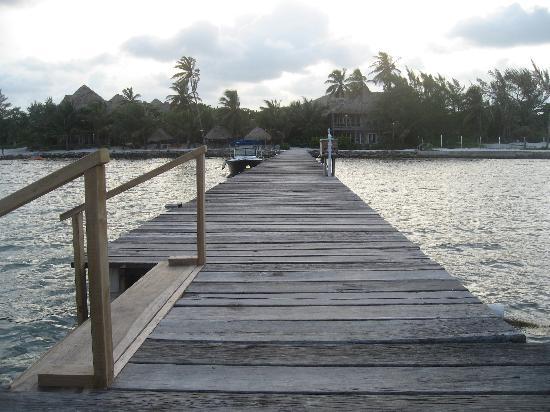 Xanadu Island Resort: Pier