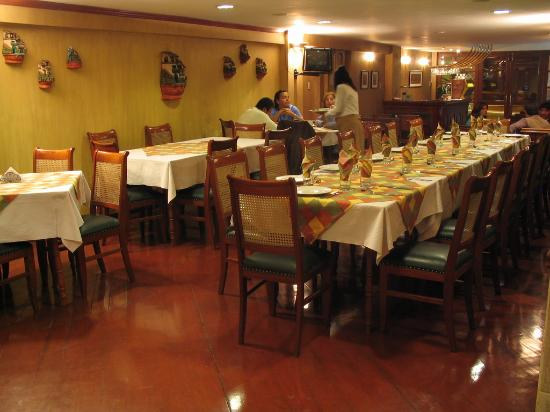 Hotel Crismar: Dinner at the restaurant