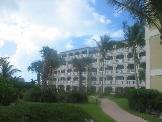 Alexandra Resort: View of our building at the Alexandra
