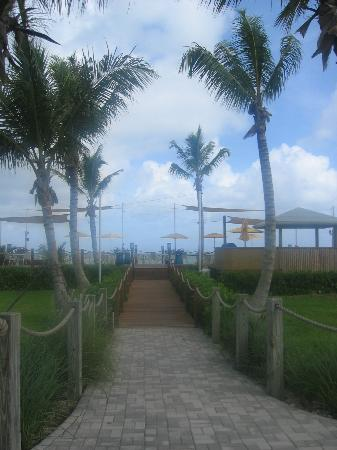 Alexandra Resort: The Alexandra's SunDeck on Grace Bay Beach