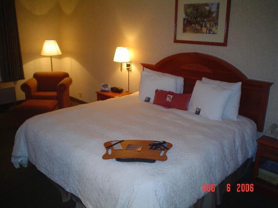 Hampton Inn Columbus Hamilton: bedroom view