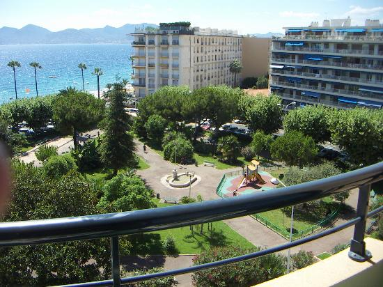 Hotel Belle Plage : Room with a view