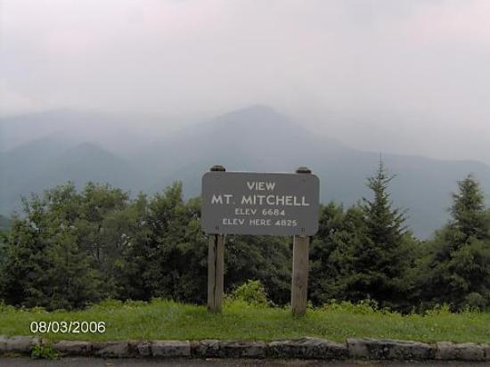 North Carolina Mountains, North Carolina: A view if Mt.Mitchell