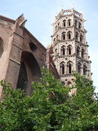 Toulouse, Prancis: Jacobins  tower