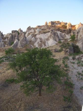 Göreme, Tyrkiet: Down low into the valleys