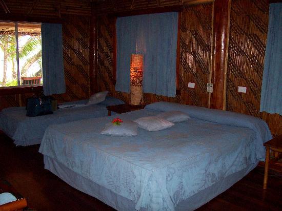Toberua Island Resort: Bure beds
