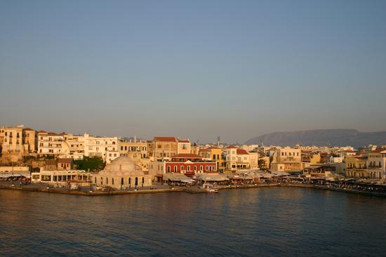 Casa Leone Boutique Hotel: View from our Balcony, Chania by day