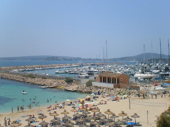 Portals Nous, Spain: Marina Area