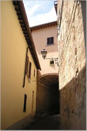 Calcione Castle and Country: A Street in Monte San Savino