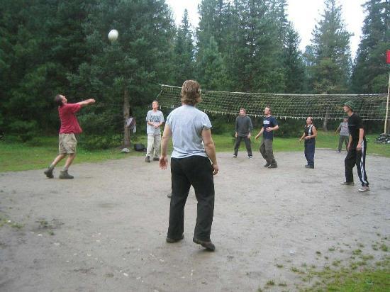 Irkutsk, Rusia: A Siberian Volleyball court
