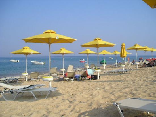 9 Muses Hotel Skala Beach: Skala beach