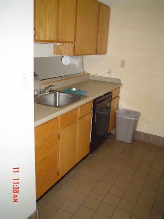 Garfield Suites Hotel: kitchen