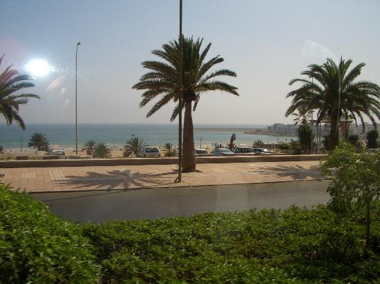 Igoudar Aparthotel: The Beach Front from a coach