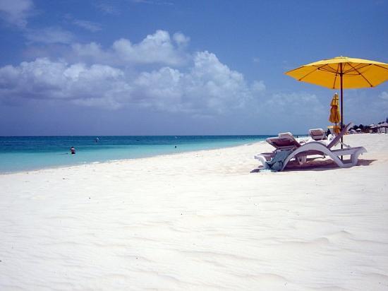 Alexandra Resort: Grace Bay Beach from the resort
