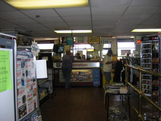 Knights Inn Baltimore - South Jessup: registration desk/cashier stand