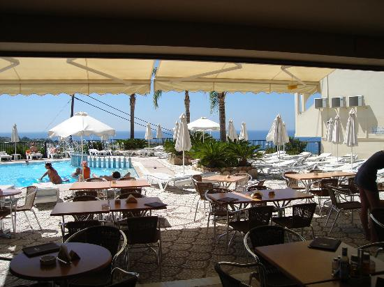 Pefkos View Studios & Apartments : View and Swimming Pool