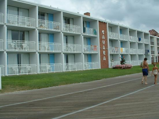 Sahara Motel: View from the Boardwalk