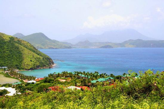 St. Kitts: Frigate Bay - Caribbean Sea