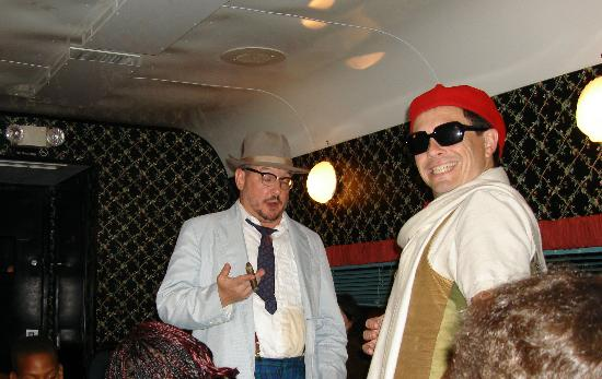 Seminole Gulf Railway Murder Mystery Dinner Train : Two of the actors