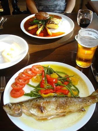 The Priory Inn: Our meal