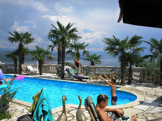 Villa Palme: Around the pool