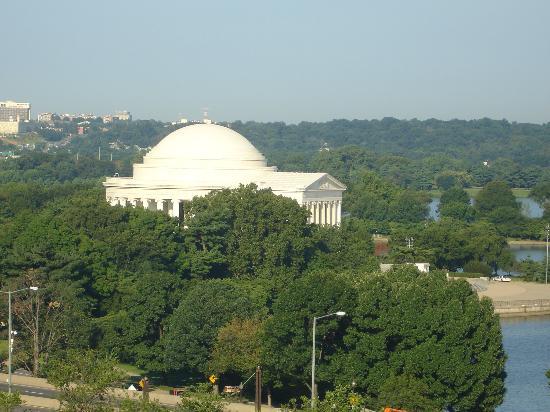 Mandarin Oriental, Washington DC: View from the room