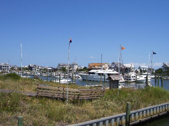 Bald Head Island, Caroline du Nord : Harbour At Bald Head