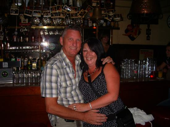 Falcon Plaza Hotel: tray and dave in amsterdam on r 24th wedding anniversary