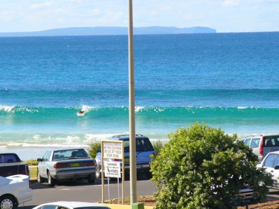 Mollymook Shores: view from room
