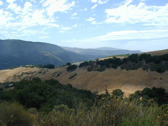 Carmel Valley, Californien: Los Laureles Grade