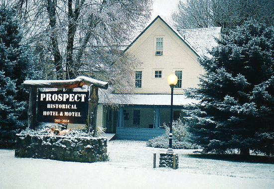 Prospect Historic Hotel - Motel and Dinner House: Prospect Hotel Nov 2004
