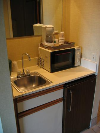 Guesthouse Inn & Extended Stay Suites: Kitchenette area