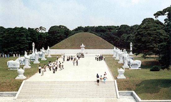 Pyongyang, كوريا الشمالية: Die Grabstätte