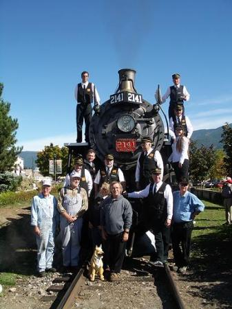 Kamloops Heritage Railway - Steam Train: Train Staff