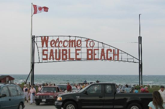 Port Elgin, Καναδάς: Sauble Beach