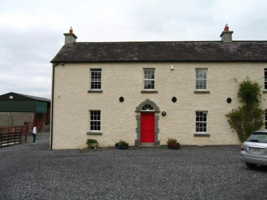 Lough Bishop House: Exterior of the house itself (hard to believe it was just 4 stone walls a few short years ago!)