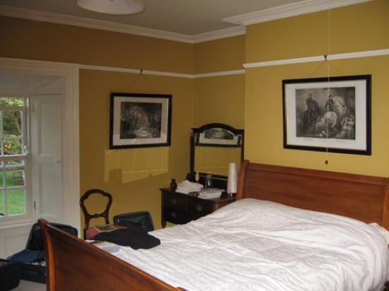 Our tastefully decorated room.