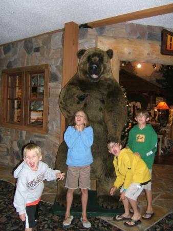 Great Wolf Lodge: Typical kitsch