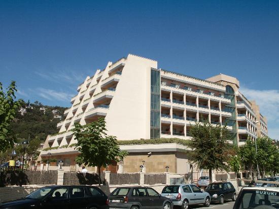 Golden Bahia de Tossa : Hotel Side