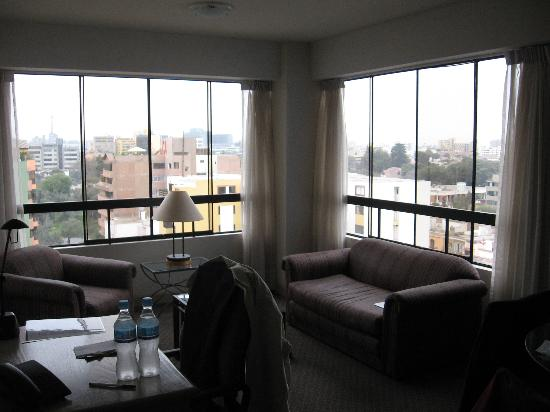Hotel ibis Styles Lima Conquistadores: Livingroom (Double Room)