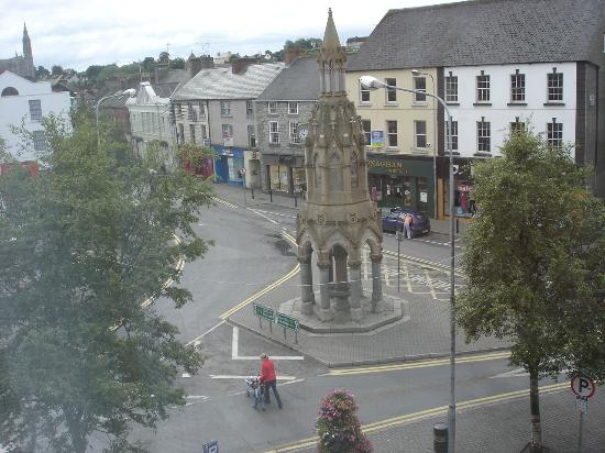 Westenra Arms Hotel: view from bedroom