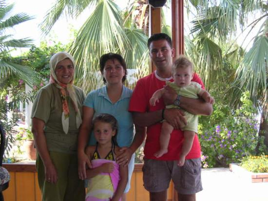 Mehtap Hotel Dalyan: Your hosts - Umit, Serap and family