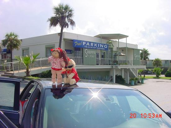 Sandpiper RV Resort: WE'RE MEMBERS OF THE CPK COLLECTORS CLUB (Here two of our 'kids pose in front of the best...