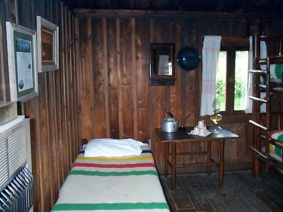 LeConte Lodge: inside cabin pic