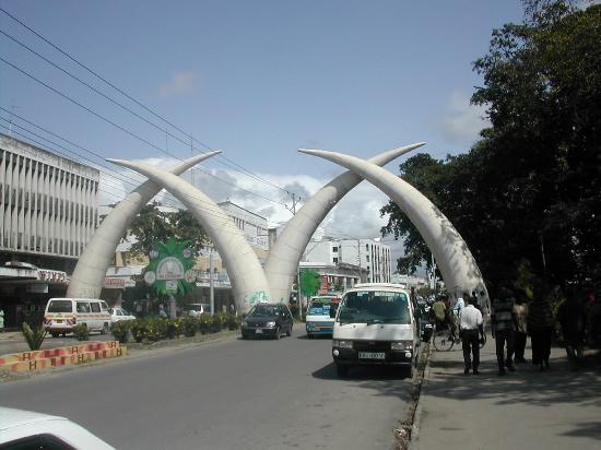 Sun n' Sand Beach: Famous Tusks of Mombassa