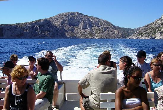 Hotel Cassitel: boat trip