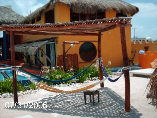 Villa La Bella: hammocks for a nice siesta