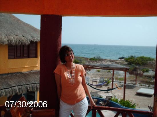 Villa La Bella: view from our balcony