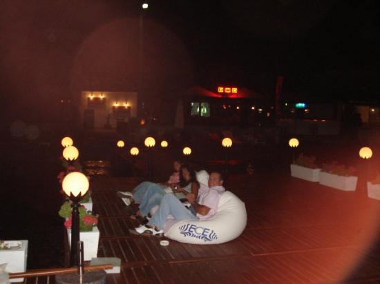 Ece Hotel Bodrum: Jetty in the evening