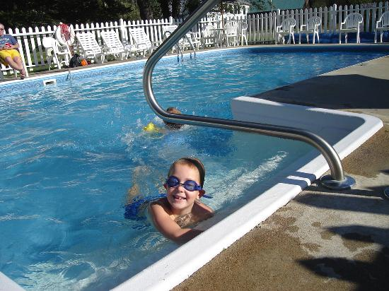 Villager Motel : The kids loved the heated pool